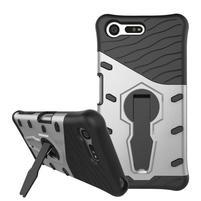 Armory odolný obal pre mobil Sony Xperia X Compact - strieborný