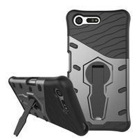 Armory odolný obal pre mobil Sony Xperia X Compact - sivý