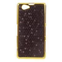 Elegantný obal pre mobil Sony Xperia Z1 Compact - fialový