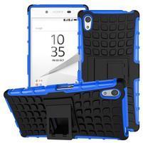 Outdoor odolný obal pre Sony Xperia Z5 - modrý