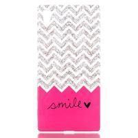 Softy gelový obal na mobil Sony Xperia Z5 - smile