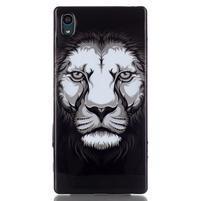Blacky gelový obal na mobil Sony Xperia Z5 - lev