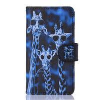 Sand puzdro pre mobil Sony Xperia Z5 Compact - žirafy