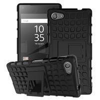 Outdoor odolný kryt pre mobil Sony Xperia Z5 Compact - čierny