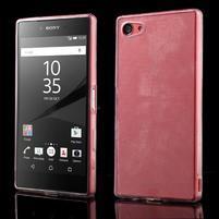 Ultratenký gélový obal pre mobil Sony Xperia Z5 Compact - transparentné