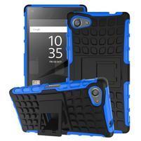 Outdoor odolný kryt pre mobil Sony Xperia Z5 Compact - modrý