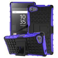 Outdoor odolný kryt pre mobil Sony Xperia Z5 Compact - fialový