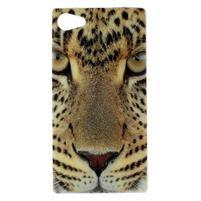 Gélový obal pre mobil Sony Xperia Z5 Compact - leopard