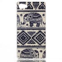 Sally gélový obal pre Sony Xperia Z5 Compact - slony