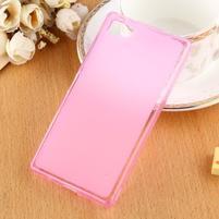 Double matný gelový obal na Sony Xperia Z5 Compact - rose