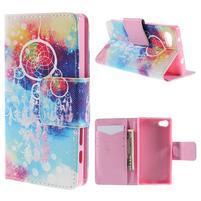 Diary Peňaženkové puzdro pre Sony Xperia Z5 Compact - dream