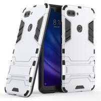 Guard odolný hybridný kryt na Xiaomi Mi 8 Lite - strieborný