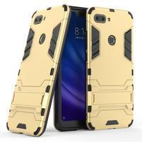 Guard odolný hybridný kryt na Xiaomi Mi 8 Lite - zlatý