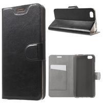 Horse peněženkové pouzdro na mobil Xiaomi Mi5 - černé