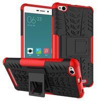 Outdoor odolný obal na mobil Xiaomi Redmi 3 - červený