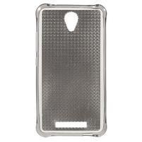 Diamonds gélový obal pre Xiaomi Redmi Note 2 - sivý