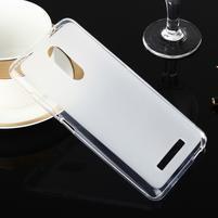 Matný gélový obal pre Xiaomi Redmi Note 3 - biele