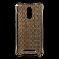 Diamonds gelový obal na Xiaomi Redmi Note 3 - zlatý