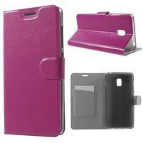 Horse peňaženkové puzdro pre Lenovo Vibe P1 - rose