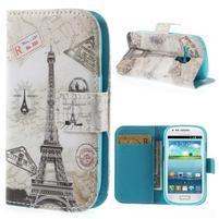 Puzdro na mobil Samsung Galaxy S3 mini - Eiffelovka
