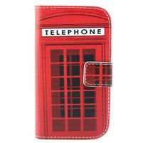 Peňaženkové puzdro na Samsung Galaxy S3 mini - telefónna búdka