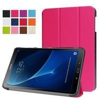 Trifold polohovatelné puzdro pre Samsung Galaxy Tab A 10.1 (2016) - rose