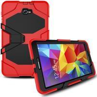 Armory 3v1 odolný obal na tablet Samsung Galaxy Tab A 10.1 (2016) - červený