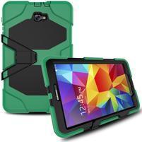 Armory 3v1 odolný obal pre tablet Samsung Galaxy Tab A 10.1 (2016) - tmavozelený