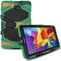 Armory 3v1 odolný obal pre tablet Samsung Galaxy Tab A 10.1 (2016) - kamufláž