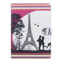 Emotive pouzdro na tablet Samsung Galaxy Tab S2 9.7 - láska pod Eiffelkou