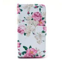 Puzdro pre mobil Sony Xperia Z1 Compact - kvety
