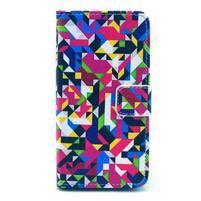 Puzdro pre mobil Sony Xperia Z1 Compact - geometrické tvary