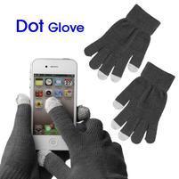 Touch dotykové rukavice na mobil - šedé