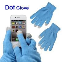 Touch dotykové rukavice na mobil - modré