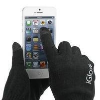 iGlove rukavice na mobil - čierné