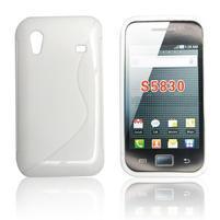 Gélové S-line puzdro na Samsung Galaxy Ace S5830- biele