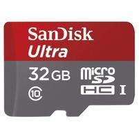 Vysokorychlostná pameťová karta SanDisk Ultra microSDHC 32 GB 80 MB/s Class 10 UHS-I, Android vrátane SD adaptéru