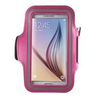 Fittsport puzdro na ruku pre mobil do rozmerov 143.4 x 70,5 x 6,8 mm - rose