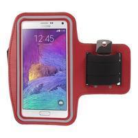 Gym bežecké puzdro na mobil do rozmerov 153.5 x 78.6 x 8.5 mm - červené