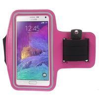 Gym bežecké puzdro na mobil do rozmerov 153.5 x 78.6 x 8.5 mm - rose