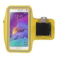 Gym bežecké puzdro na mobil do rozmerov 153.5 x 78.6 x 8.5 mm - žlté