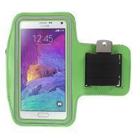 Gym bežecké puzdro na mobil do rozmerov 153.5 x 78.6 x 8.5 mm - zelené