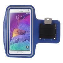 Gym bežecké puzdro na mobil do rozmerov 153.5 x 78.6 x 8.5 mm - modré