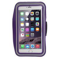 Soft puzdro na mobil vhodné pre telefony do 160 x 85 mm -  fialové