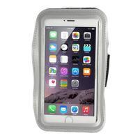 Soft puzdro na mobil vhodné pre telefóny do 160 x 85 mm -  šedé