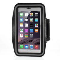 Soft puzdro na mobil vhodné pre telefóny do 160 x 85 mm - čierne