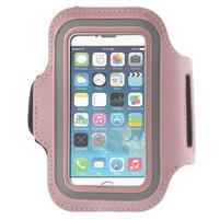 Jogy bežecké puzdro na mobil do 125 x 60 mm - ružové