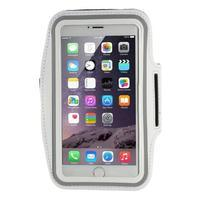 Soft puzdro na mobil vhodné pre telefóny do 160 x 85 mm - biele