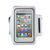 Gymfit športové puzdro pre telefón do 125 x 60 mm - biele