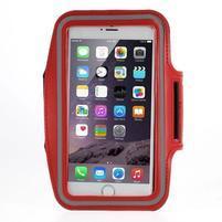 Soft puzdro na mobil vhodné pre telefóny do 160 x 85 mm - červené